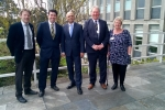 Derek Thomas MP, Scott Mann MP, John Keeling CC, Sue Nicholas CC.